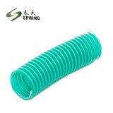 L'aspiration en PVC flexible en plastique pour le transport de poudres et de l'eau pour irrigation