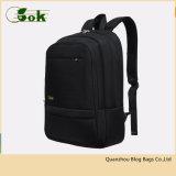Лучший дизайнер 18-дюймовый черный рюкзак для бизнеса модный стильный портативный компьютер подушки безопасности