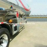 半燃料ディーゼルガソリン輸送の記憶のトラックのトレーラーのステンレス鋼の貯蔵タンク