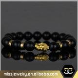 De godsdienstige Armband van de Parel van Boedha voor Mensen, de Armband Mjbe012 van de Parel van het Agaat