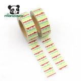 Impresión de encargo de la cinta de Washi del Lacework colorido