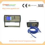 24のチャネル(AT4524)が付いているデジタル温度のレコーダー