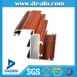 Profilo di alluminio dell'Iraq per il disegno personalizzato grano di legno del portello della finestra
