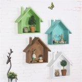 Étagère décorative de mur de décor à la maison assez en bois de vente en gros