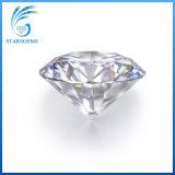 둥근 심혼 및 화살 화려한 커트 15. Omm 큰 크기 10cts 백색 Moissanite 다이아몬드