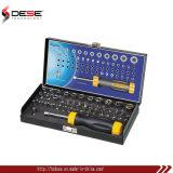 комплект бита cr-V или материальный отвертки S2 гнезда 60PCS 1/я 25mm установленный