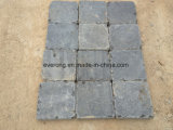 Ciottolo naturale del basalto della pietra dell'andesite di spaccatura per il lastricatore esterno