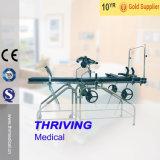 Thr-83A Bed van het Onderzoek van het Roestvrij staal van het ziekenhuis het Gynaecologische