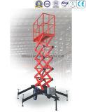La Dos-Rueda de los 6-10m de la fábrica de China remolcable Scissor elevaciones
