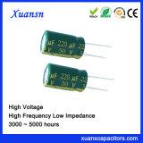50V Lage Impedantie van 220UF de Elektrolytische Condensatoren 5000hours
