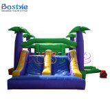 Corrediça Bouncy do castelo dos miúdos do anúncio publicitário, Bouncers combinados infláveis
