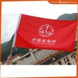 Hochwertige große kundenspezifische Markierungsfahnen und Fabrik-Fußball-Zaun-Markierungsfahne