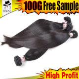 Малазийским машину Weft Реми волос человека