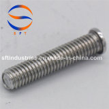 Винт M4*10 продетый нитку алюминием (PT) ISO13918