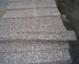 Azulejo rosado Polished/natural del granito G664 para el suelo/la encimera