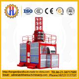 De Machines van de bouw/Hijstoestel van de Passagier van de Kooi van de Apparatuur Sc200/200 het Dubbele