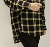주문 형식 의류 남녀 공통 우연한 긴 소매 블라우스 셔츠