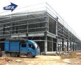 Preiswerte personifizierte Platz-Rahmen Audi Stahlkonstruktion-vorfabrizierte Auto-Werkstatt