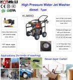 Промышленный дизельный очиститель высокого давления шайба, вода под высоким давлением для очистки машины (HL-3600D)