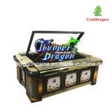 販売のための硬貨によって作動させる雷ドラゴンの魚のゲーム表の賭けるアーケード・ゲーム機械