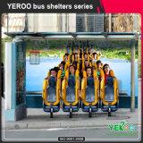 Abrigo ao ar livre do paragem do autocarro da mobília de rua para a venda