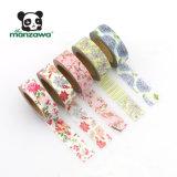 Colore dentellare di Manzawa 10m Deco Washi floreale e nastro protettivo stampato abitudine di disegno degli uccelli