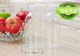 Vaso bevente della spremuta creativa della bevanda del commercio all'ingrosso della fabbrica della Cina con il coperchio della paglia