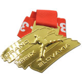 メダル(DTS-520)を実行しているカスタマイズされた金属10kのフィニッシャーの女性