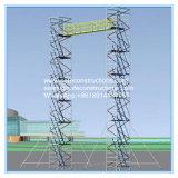 안전한 정비를 위한 세륨에 의하여 증명되는 알루미늄 비계 탑