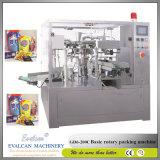 Автоматические затир томата, завалка майонеза и машина упаковки запечатывания