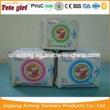 Serviettes hygiéniques de dames avec la garniture sanitaire d'anion négatif pour des produits de consommation quotidienne