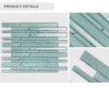 La parte superior de Diseño Venta al por mayor Popular Beige claro&Green Backsplash baldosas de vidrio
