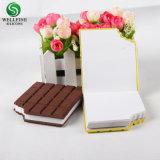 작은 소형 충전물 노트북 계획자, 초콜렛 모양 여행 노트북