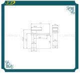 Qualitäts-Wasser-Einsparung-Quadrat-Messingeinhebelbassin-Wannen-Hahn