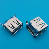 위원회 마운트 여성 SMD 3.0 USB 연결관