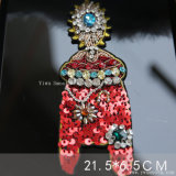 Rhinestone Ophidian вышивка 3D-Patch Sequin валики Crystal Reports одежда аксессуары