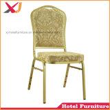 Укладка со сдвигом алюминиевых отель свадьбы используется для проведения банкетов обеденный стул