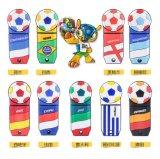 Brindes Promocionais por grosso pendrive USB de forma Futebol Soccer PVC esfera esportiva de 8 GB Unidade Flash USB