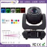 Mini100w bewegliche Hauptstadiums-Beleuchtung des Punkt-LED