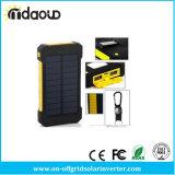 Крен 20000mAh силы USB крена солнечной силы двойной делает панель солнечных батарей водостотьким Powerbank Bateria внешнюю портативную с светом СИД