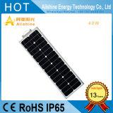 luz de calle solar de 40W LED con silicio monocristalino de la eficacia alta