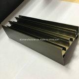 Quadrat, rundes, unterschiedliches Aluminiumlegierung-Strangpresßling-Profil für Tür und Fenster-Gefäß 88