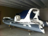 Boot van het Water van het Ponton van Hull van Liya 20FT 6.2m de Stijve PRO Mariene Opblaasbare