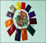 Plastikrohstoff-Farben-Masterstapel