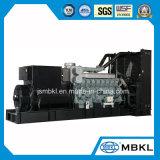 Diesel van Shanghai Mistubishi 1200kw/1500kVA Generator met Hoge Macht en Lage Diesel Consumptie s12r-Ptaa2-C