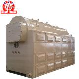 Chaudière à vapeur allumée par cosse de riz pour la raffinerie 3ton d'huile de table