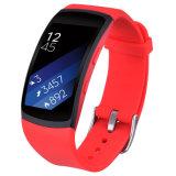 De zachte Band van de Sport van de Vervanging van het Silicone voor het Toestel Geschikte 2/Fit 2 van Samsung PRO Slim Horloge