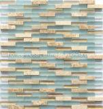 Mistura de mosaico de vidro de tamanho mini Tile para uso na parede