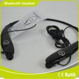 Receptor de cabeza sin hilos del auricular de Bluetooth del estilo profesional de la tirilla de la camisa