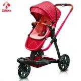 Pode ser dobrado e pode encolher Canpoy o carro de bebê vermelho